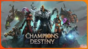 Free Download Champions Destiny Mod Apk + Data Terbaru 2018