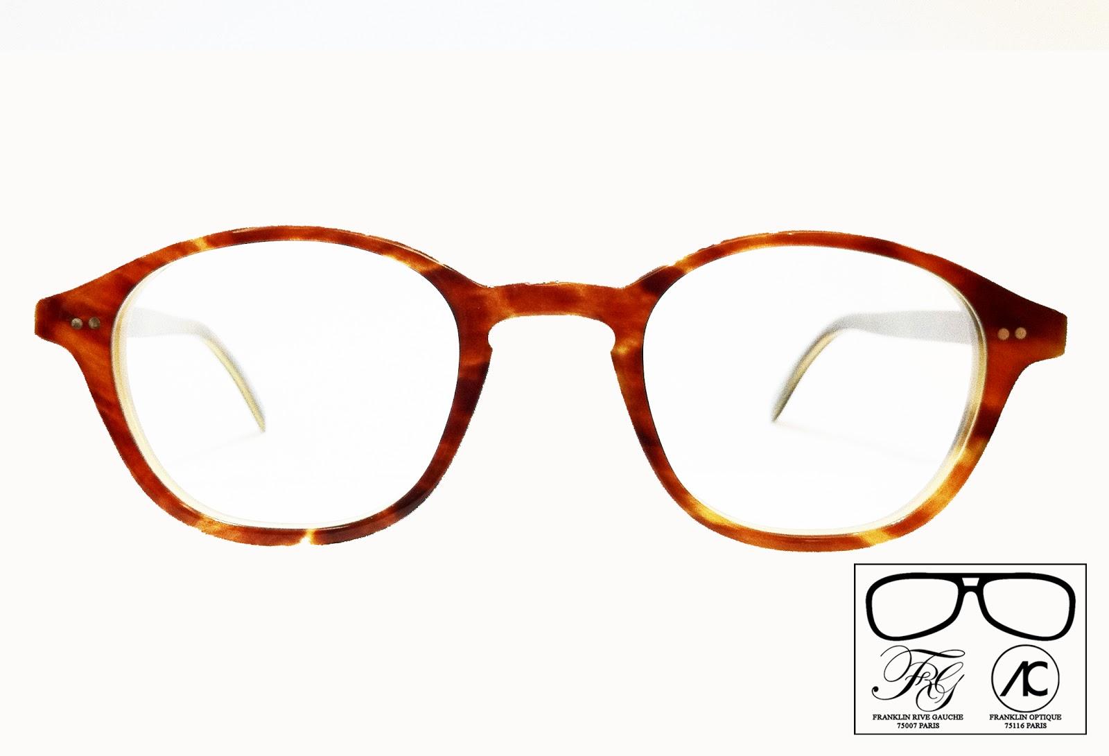 Le résultat est une magnifique paire de lunettes au look rétro d une  splendide couleur écaille cerise claire. ee7817d21449