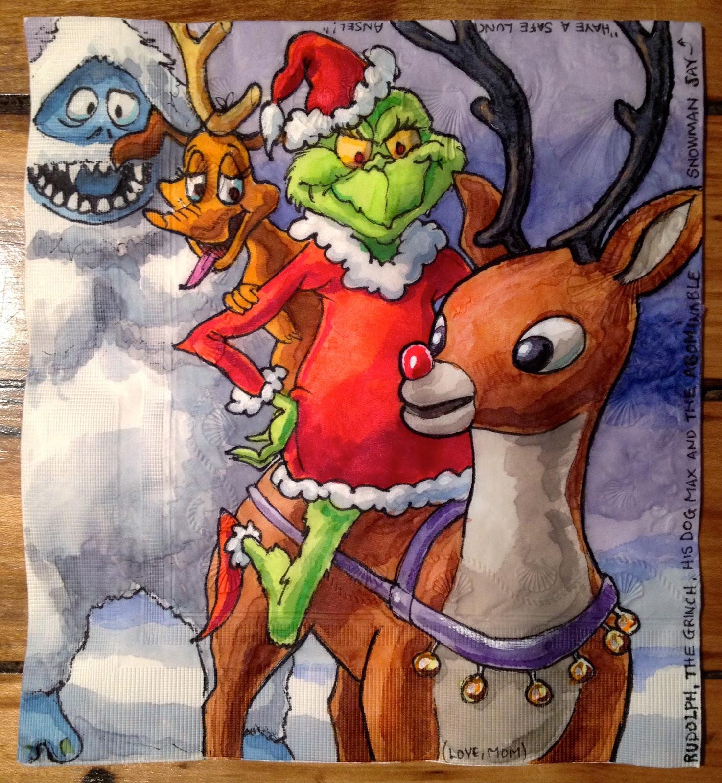 Nightmare Before Christmas Napkins