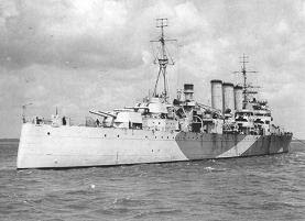 WW2 Battle of Atlantic - Hunt for Bismarck __photo HMS Norfolk