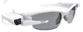 Sony SmartEyeGlass Attach smartglasses
