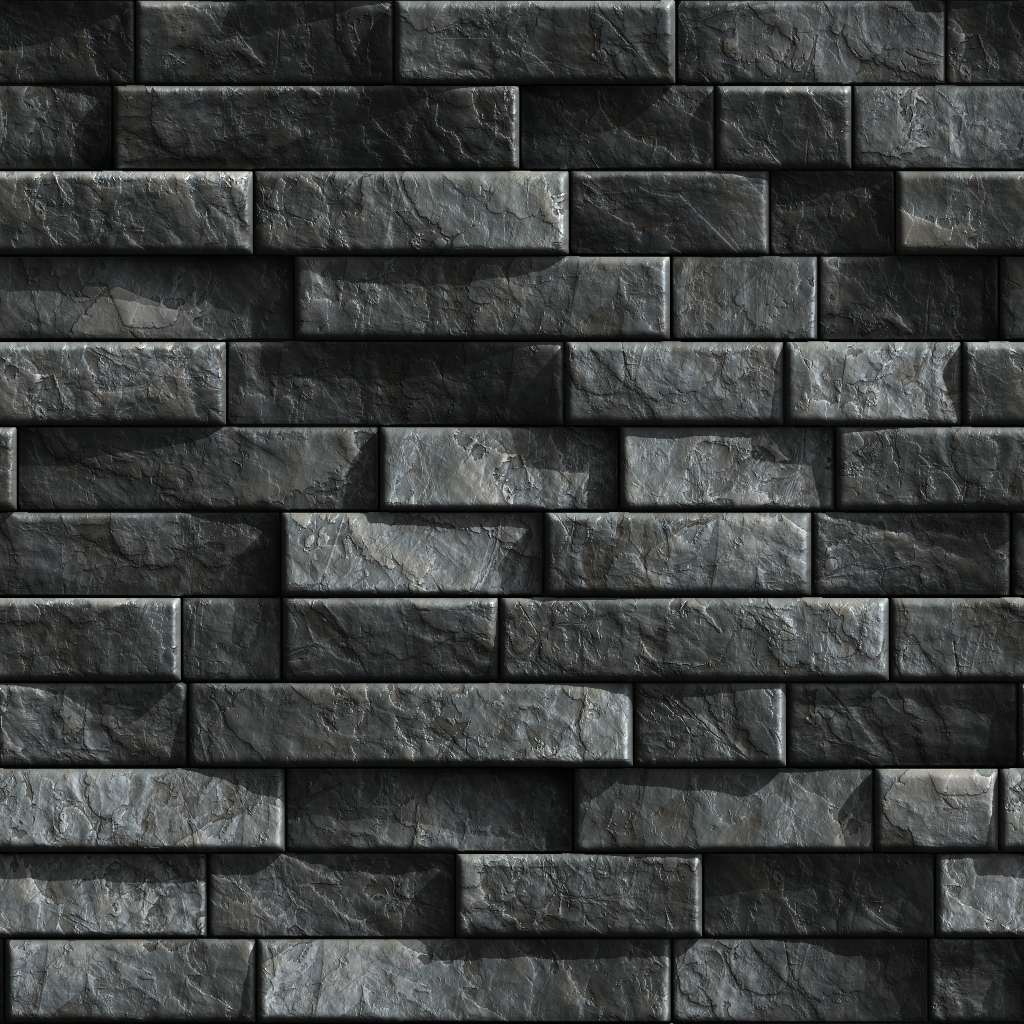 Slate Tiles Texture.