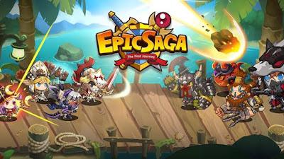 Epic Saga Apk v1.3.4 Mod Terbaru 2016