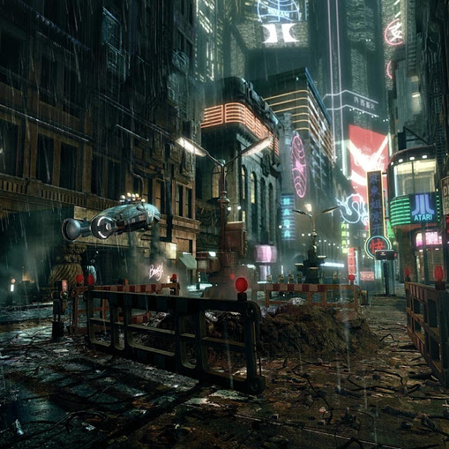 Blade Runner Wallpaper Engine