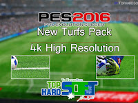 PES 2016 Turf Pack 4K High Resolution
