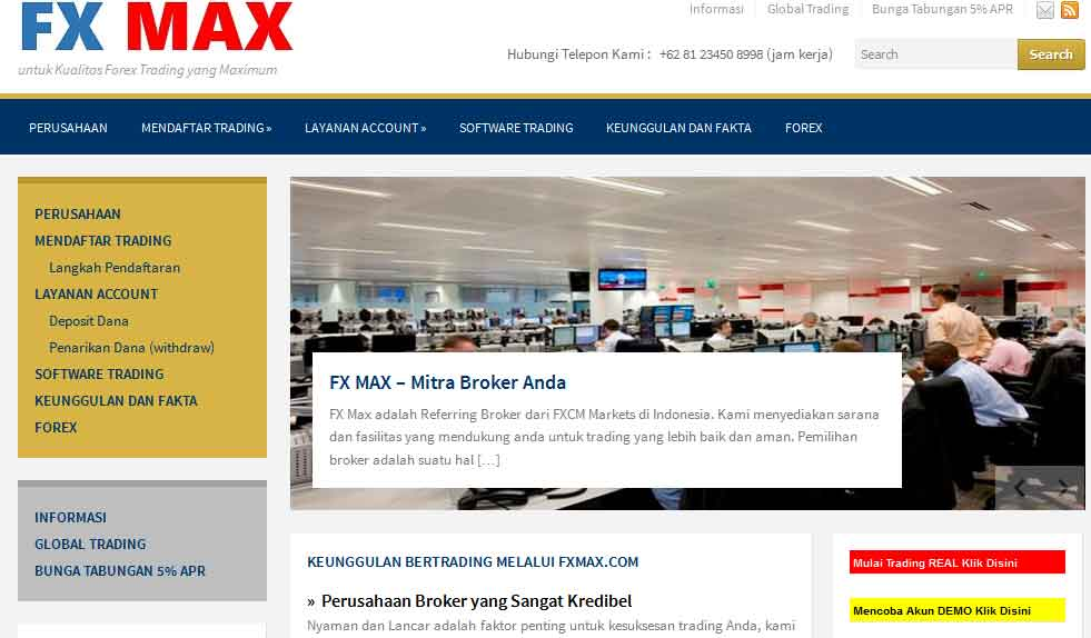 Broker trading forex indonesia