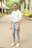 Rakul Preet Singh in Jeans and White Shirt At Jaya Janaki Nayaka le Logo Launch ~  Exclusive 052.JPG
