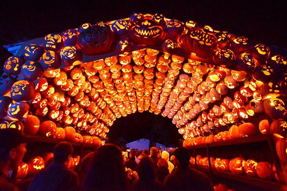 Halloween en Nueva York. Fiesta de todos los santos