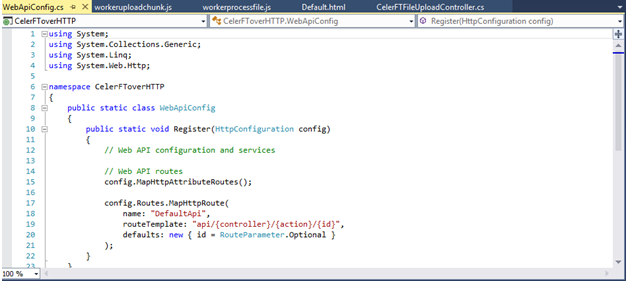 Gigabit File uploads Over HTTP - CodeProject