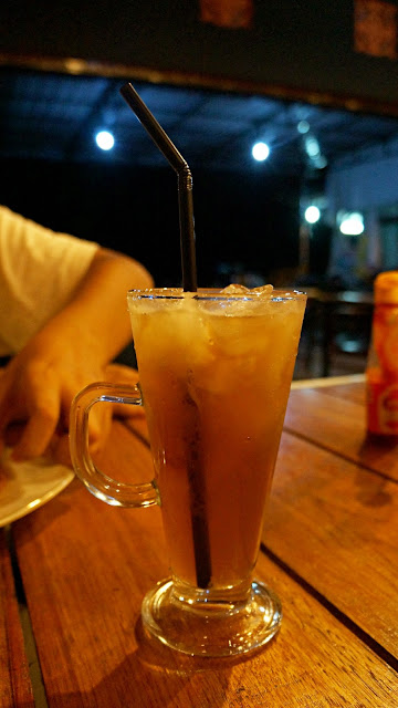 Ice lemon tea Silent Resto & Coffee Shop