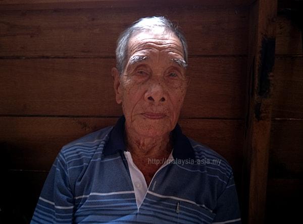 Old Lun Bawang Man