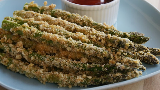 Asparagus Fries , weight watchers recipes , 5 smart points