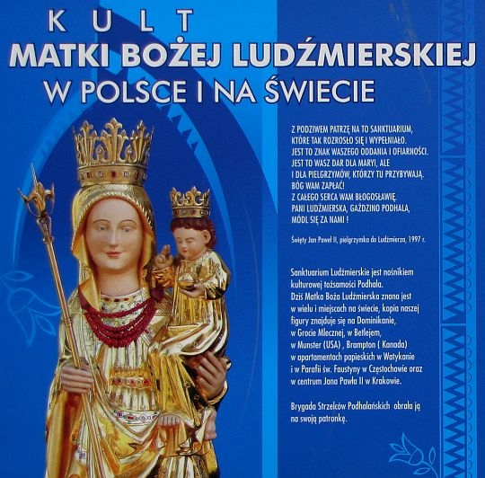 Kult Matki Bożej Ludźmierskiej.