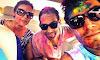 Randeep Hooda with his sister Anjali Hooda and brother in law