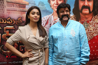 Shriya Saran Nandamuri Balakrishna at Gautamiputra Satakarni Team Press Meet Stills  0201.JPG