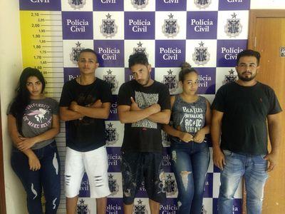 Grupo é preso em Feira de Santana acusado de explodir caixa eletrônico em Alagoinhas