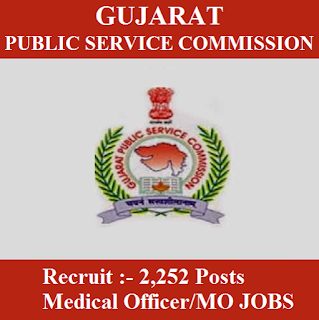 Gujarat Public Service Commission, GPSC, PSC, Gujarat, Medical Officer, MO, Graduation, freejobalert, Sarkari Naukri, Latest Jobs, Hot Jobs, gpsc logo