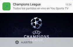 partidos de champions league