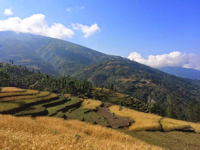Landscapes of Sindhupalchowk region, Nepal