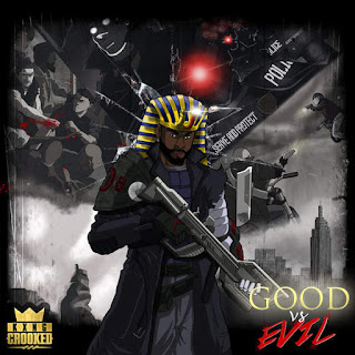 KXNG Crooked - Good vs Evil (2016) - Album Download, Itunes Cover, Official Cover, Album CD Cover Art, Tracklist