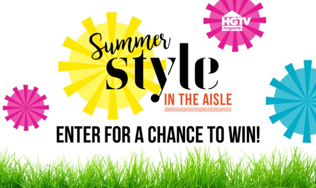 HGTV Magazine wants you to enter once for your chance to win some great summer products from their sponsors and a check for $500 CASH to have a summer shopping spree!