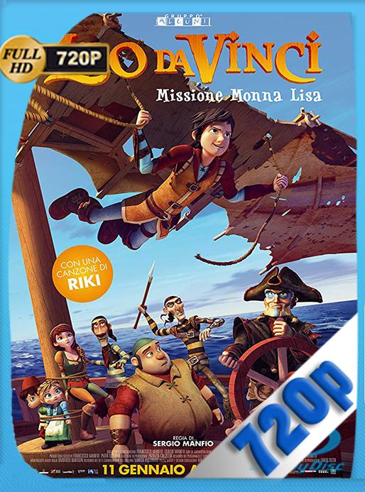Leo Da Vinci: Misión Mona Lisa (2018) HD [720p] Latino [GoogleDrive] MacacoupHD