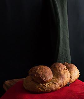 Receta de pan de café con nueces thermomix