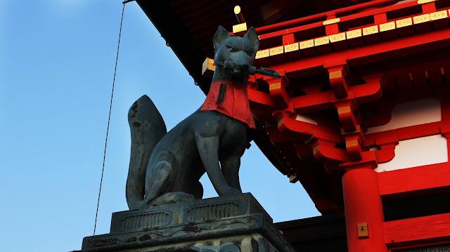 Fuhimi Inari - kitsune