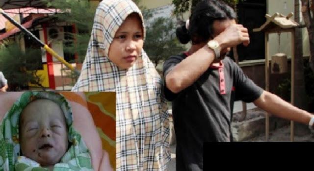 Tragis, Berebutan Bayi Pasangan Suami Istri Ini Justru Membunuh Bayinya Sendiri
