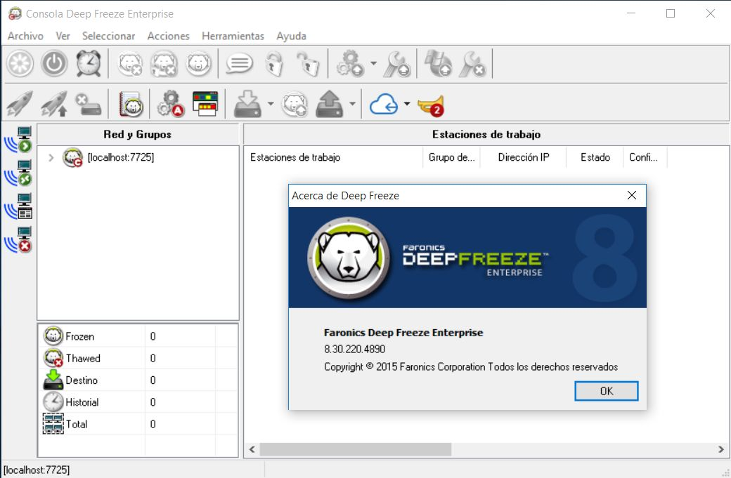 Deep freeze 6 3 full working
