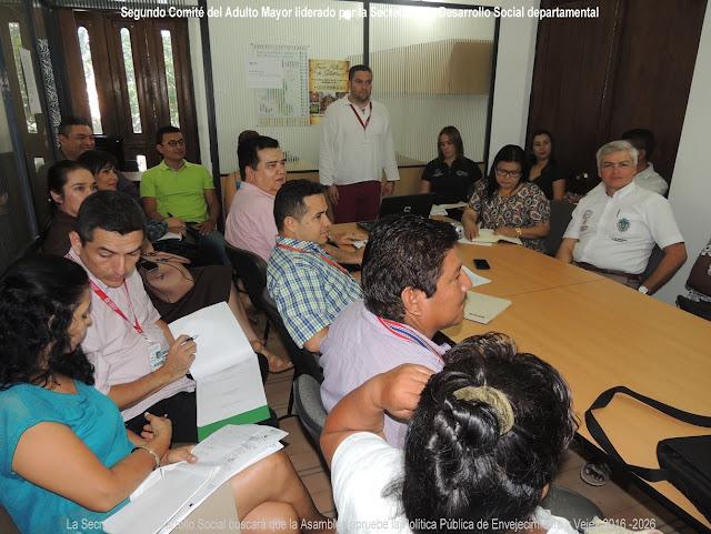 En Cúcuta, Secretaría de Desarrollo Departamental lidera Segundo Comité del Aulto Mayor #RSY #CF