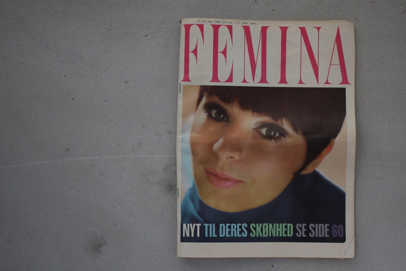 d5c7cd4b Det var et helt Femina fra 1966! Det er simpelthen så sjovt at bladre i, at  det i sig selv er en fantastisk skat!
