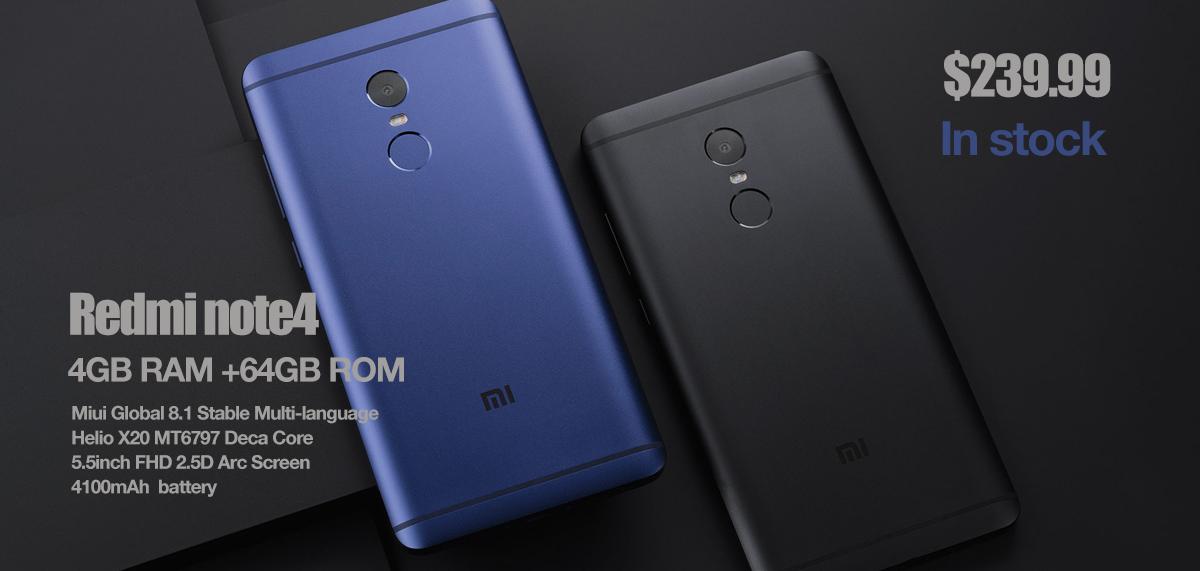 Buy Xiaomi Redmi Note 4 4 Gb Ram 64 Gb Rom Mobile: To2c.com Blog: 4GB RAM +64GB ROM , Black And Blue Xiaomi