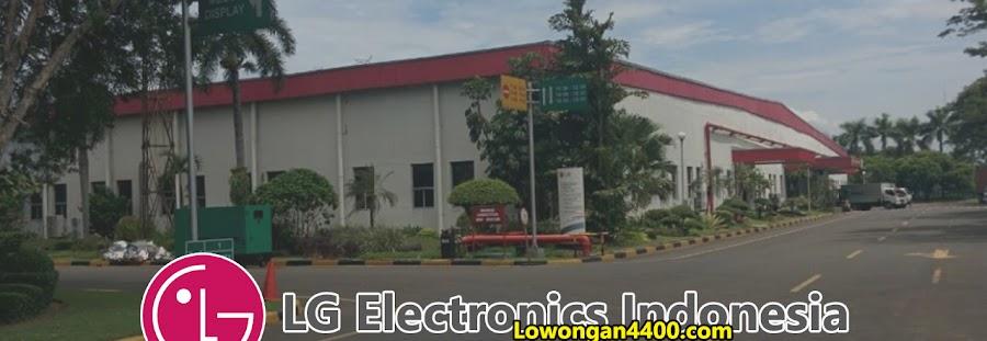 Lowongan Kerja PT. LG Electronics Indonesia Cikarang