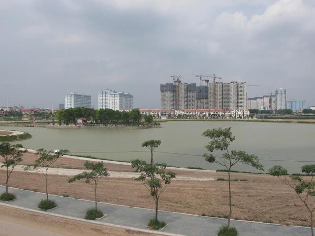 hồ điều hòa an bình city - thành phố giao lưu