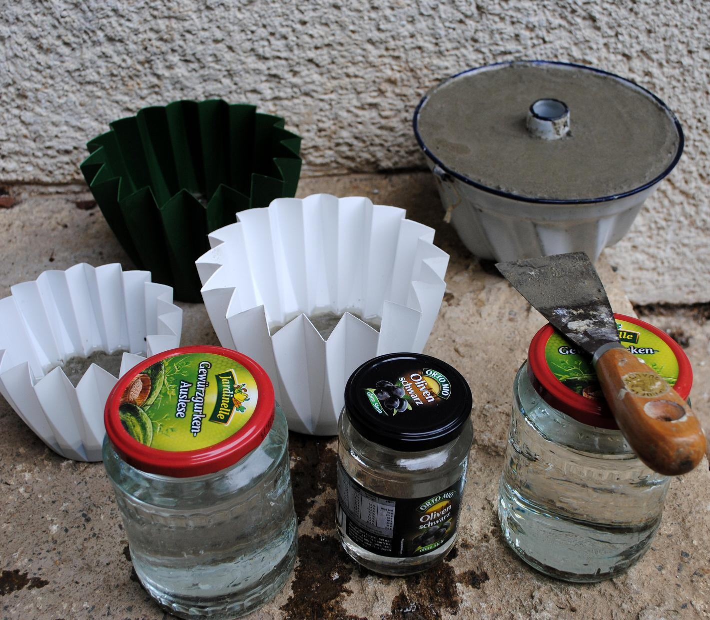 Gartendeko selber machen beton  Gartendeko-Blog: Selbstgemachtes aus Zement