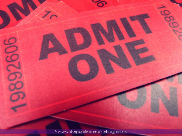 At Home Movie Night at The Purple Pumpkin Blog