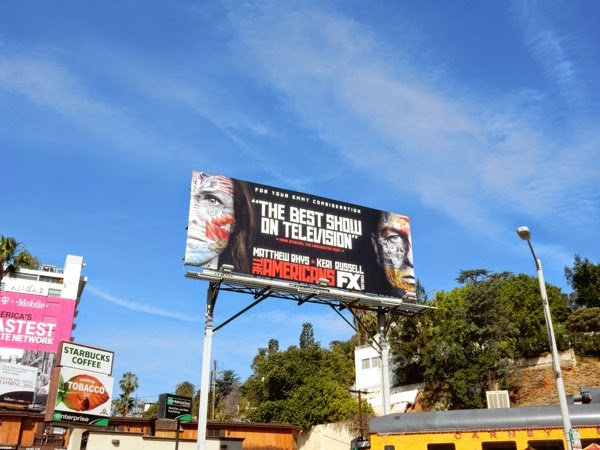The Americans 2015 Emmy billboard