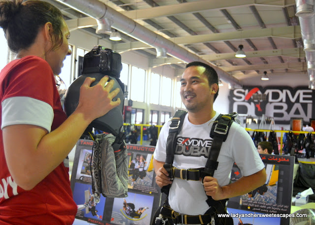 Skydive Dubai interview