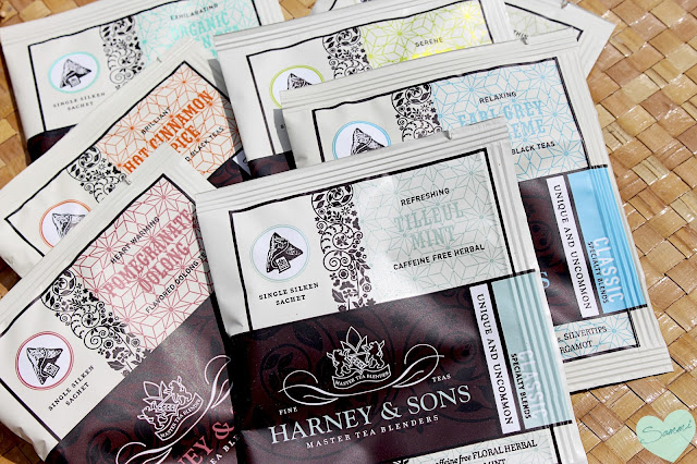 HARNEY AND SONS FINE TEA | WRAPPED SACHETS