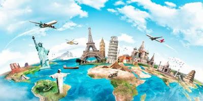 imagem de vários países