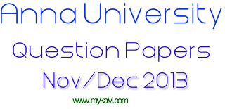 anna university question papers,question papers,anna university,mykalvi