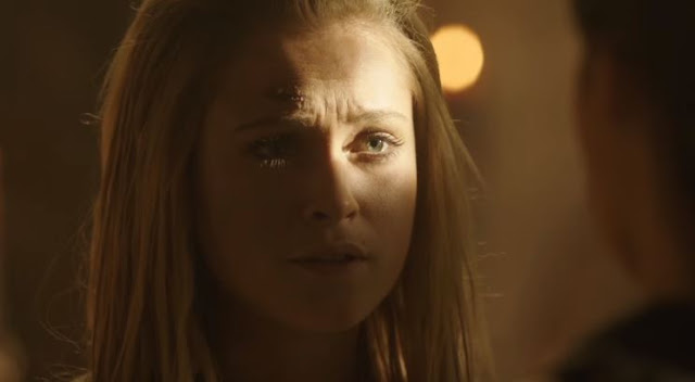 "Clarke en el 3x07 ""Thirteen"" de 'The 100'"