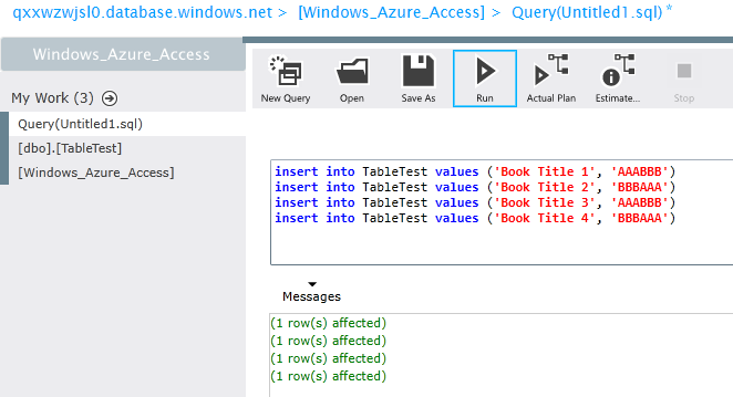 SQL Server and MS Access 2013 are still friends in Azure