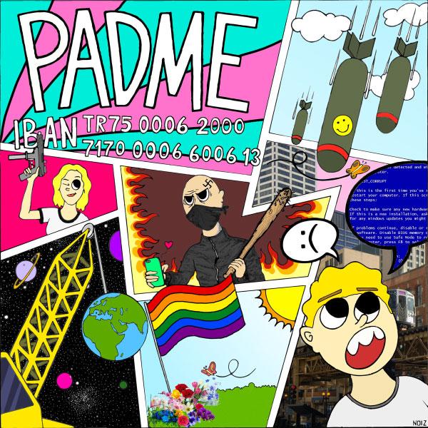 "Padme stream new album ""IBAN TR75 0006 2000 7170 0006 6006 13"""