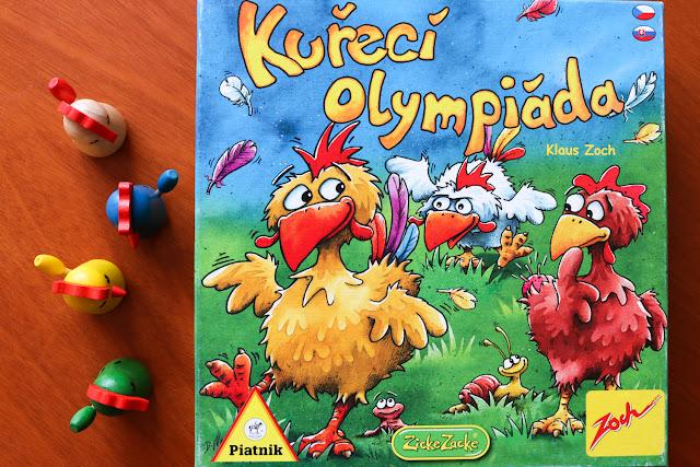 Recenze hry Kuřecí olympiáda na blogu www.spoluhratky.eu