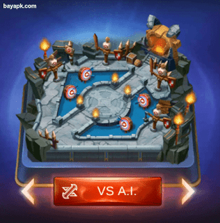 Mode VS A.I Mobile Legends