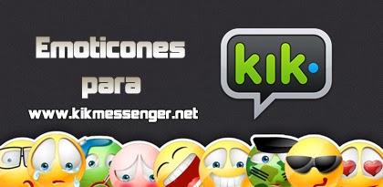 ¿Cómo conseguir stickers o emoticones para Kik Messenger?
