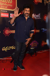 Chiranjeevi Stills at Gemini TV Puraskaralu Event  0013.JPG