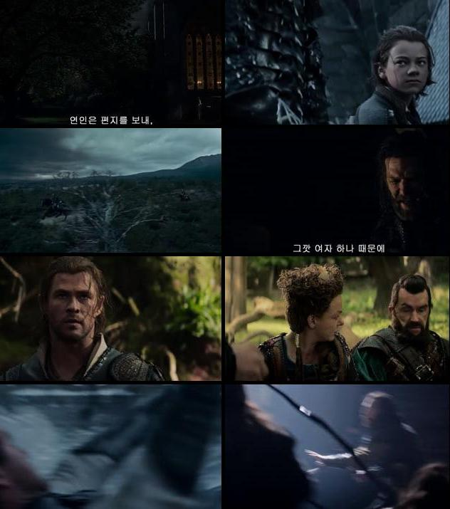 The Huntsman Winters War 2016 English 480p HDRip